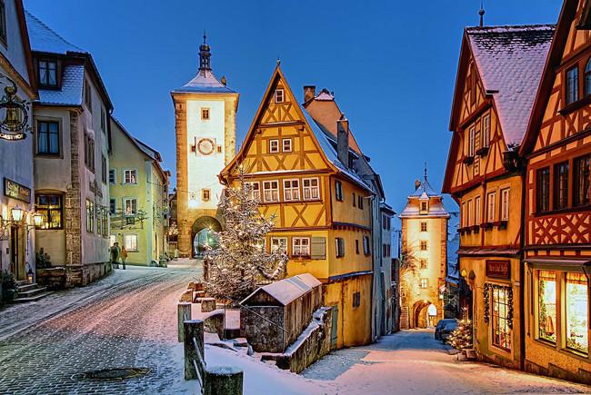 Rothenburg ob der Tauber1