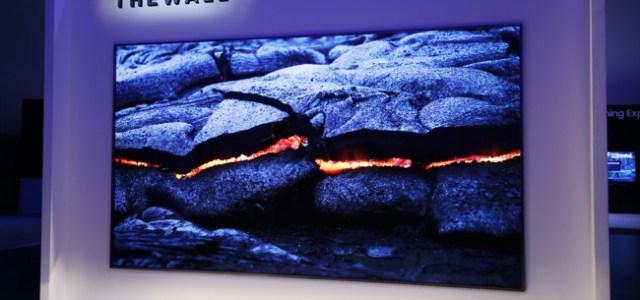 "Samsung a lansat ""The Wall"", primul televizor modular MicroLED din lume"