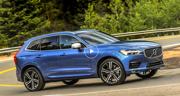 Volvo XC60, cea mai sigură mașină a anului 2017!