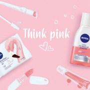 Think Pink cu noile servețele micelare și demachiantul bifazic NIVEA Pink Flamingo