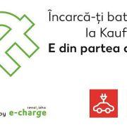 Kaufland va suporta alimentarea la stațiile de încărcare a mașinilor electrice amplasate în parcările sale