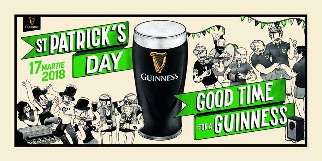 Guinness dă startul petrecerilor de St. Patrick's Day în România