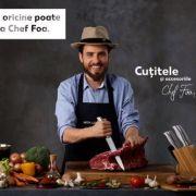 Kaufland lansează o linie de cuțite și accesorii cu semnătura lui Chef Foa