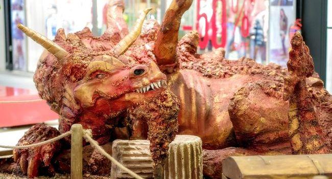 """București """"în ținutul dragonilor"""":expoziție în premieră în România înSun Plaza"""