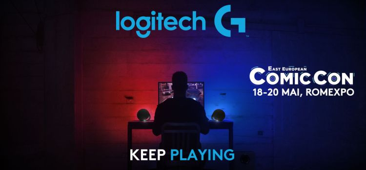 East European Comic Con 2018: Logitech G îi cheamă pe gameri într-un Boot Camp antrenant
