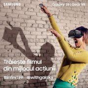 Samsung aduce tehnologia Gear VR în spațiul infiniTIFF de la Festivalul Internațional de Film Transilvania