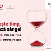 Vino și salvează o viață!Donează sânge la Sun Plaza!
