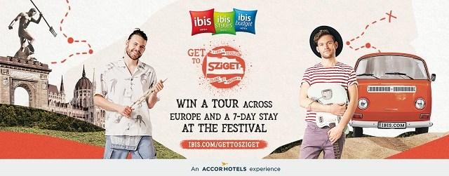 """""""Get to Sziget"""" – câștigă o aventură muzicală cu familia de hoteluri ibis!"""