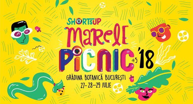 Marele Picnic 2018: Trei seri de filme alese de ShortsUP în Grădina Botanică București