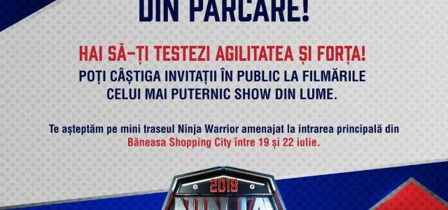 Ninja Warrior la Băneasa Shopping City!