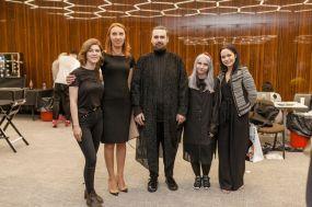 Paula Clitan(stanga), Anda Onutan (Henkel), Alexandru Pop, Veronica Tomos si Oana Ganea (Henkel)