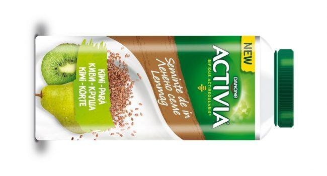 Noutatea verii de la Activia: iaurturile de băut cu semințe de in și mixuri de fructe!