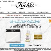 L'Oréal Romania lanseaza Kiehls.ro, primul magazin online propriu