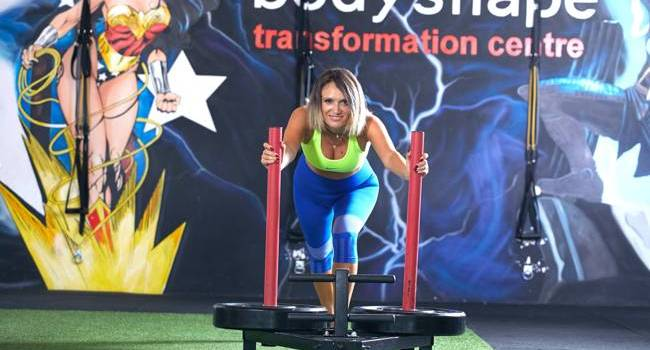 Carmen Negoiță a intrat în cantonamentul Bodyshape!
