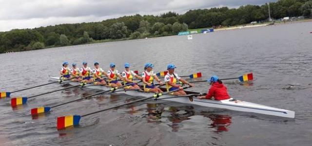 Nouă echipaje româneşti iau startul la Campionatul Mondial de Canotaj de la Plovdiv