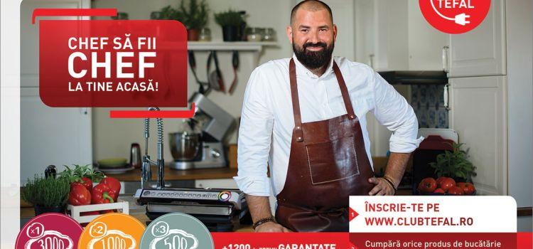 Gurmand, food blogger sau createur de saveur? Intră în Club Tefal alături de Adrian Hădean