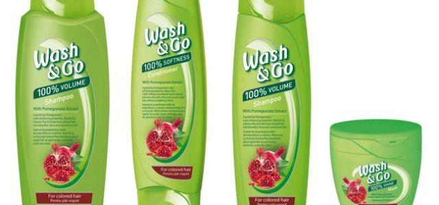 Wash&Go lansează noua gamă cu extract de rodie