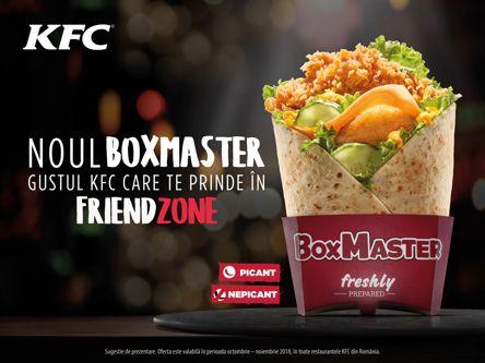KFC lansează Box Master