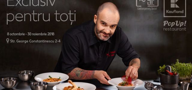 Kaufland România a redeschis pop-up restaurantul gourmet de la Si Lounge