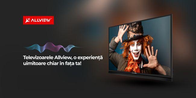 Allview lansează o nouă categorie de produse: televizoarele LED!