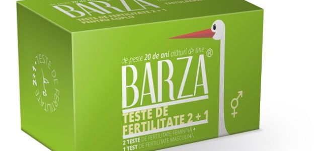 BARZA lansează testul de fertilitate feminină și masculină