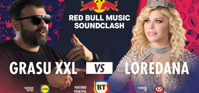 Red Bull Music SoundClash revine: Grasu XXL vs. Loredana la Sala Polivalentă