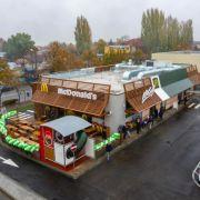 McDonald's a deschis primul restaurant din Focșani