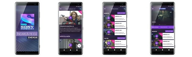 Aplicația Sony Networks, disponibilă acum pe dispozitivele Xperia XZ3