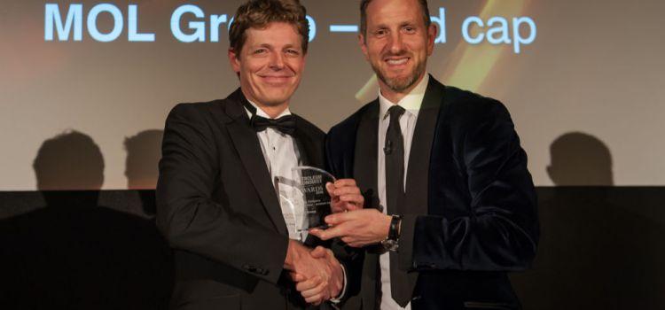 Grupul MOL obține două distincţii la Premiile Petroleum Economist 2018