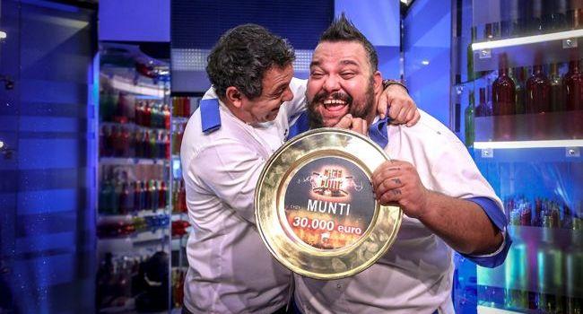 """Munti, câștigătorul celui de-al șaselea sezon """"Chefi la cuțite"""""""