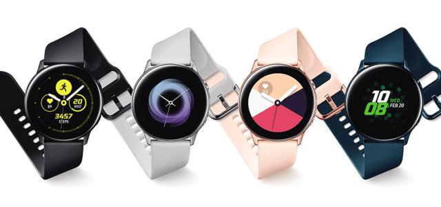 Samsung lansează Galaxy Watch Active, Galaxy Fit și căștile Galaxy Buds