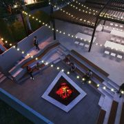 Primul complex rezidentialcu cinema in aer liber si pista de alergare pe acoperis