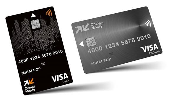 Orange Money lansează carduri de debit Visa și noi modalități de plată contactless