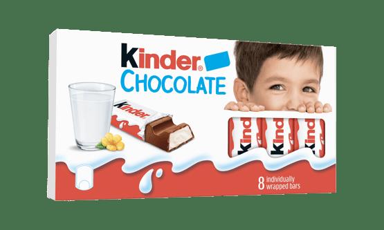 Kinder Chocolate lanseaza o noua identitate vizuala la nivel global