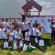 """Atletii """"Exatlon"""" i-au facut fericiti pe copiii de la centrul de plasament Casa Iosif din Bucuresti"""