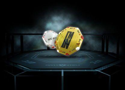 PokerStars și UFC lansează campania UFC și PokerStars Octagon Chip