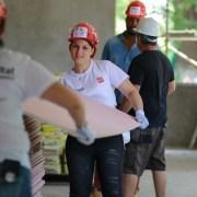 Angajații PENNY Market, voluntari pe șantierul Habitat for Humanity din Buftea