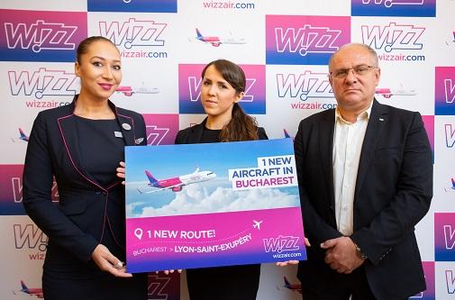 Wizz Air se extinde în București: mai multe zboruri și o nouă rută spre Franța