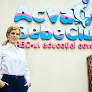 Afaceri de 1 milion de lei în 2019 pentru Acvatic Bebe Club, locul unde bebelușii învață să înoate