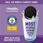 Record Mondial pentru OREO si Mondelez