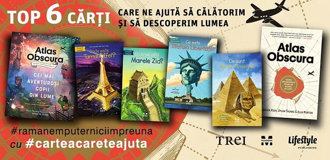 Top 6 cărți care ne ajută să călătorim în continuare și să descoperim lumea!