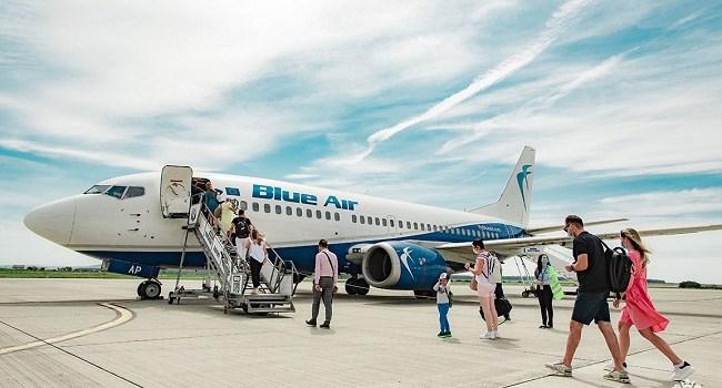Blue Air anunță transferul operațiunilor din Paris pe aeroportul Charles de Gaulle