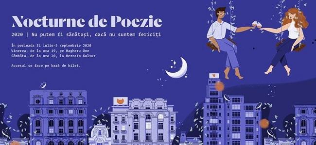 Niro Investment Group susține proiectul cultural Nocturnele de Poezie Contemporană al asociației ARCEN