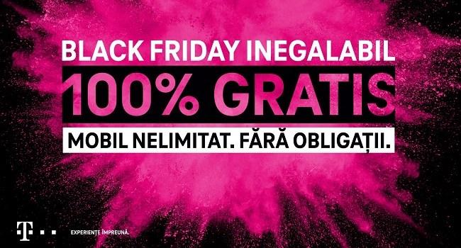 Black Friday la Telekom: Discounturi de pana la 80% la nenumarate modele de telefoane!