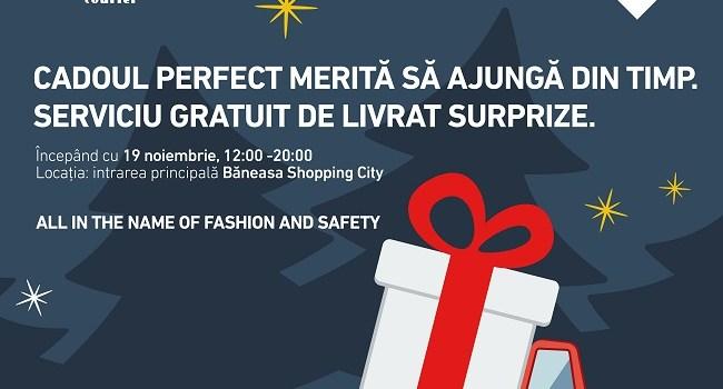 Băneasa Shopping City lansează în parteneriat cu Fan Courier serviciul Xmas Xpress