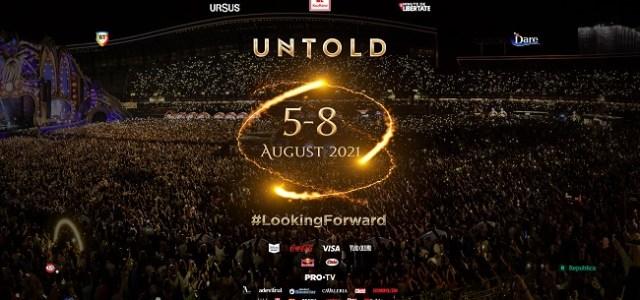 UNTOLD 2021 își va deschide porțile în perioada 5 – 8 AUGUST!