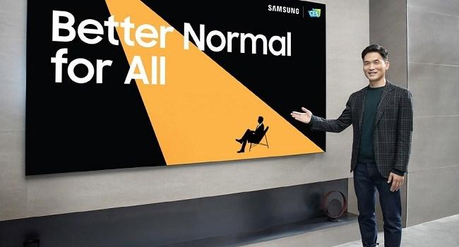 """Samsung prezintă noutățile sale pentru un """"normal mai bun"""" la CES 2021"""