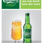 Carlsberg se reinventează printr-o nouă identitate vizuală