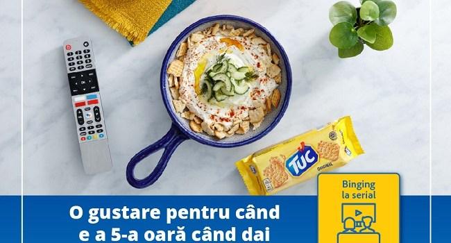 Biscuiții TUC și OREO și crema de brânză PHILADELPHIA – mixul ideal pentru o gustare perfectă