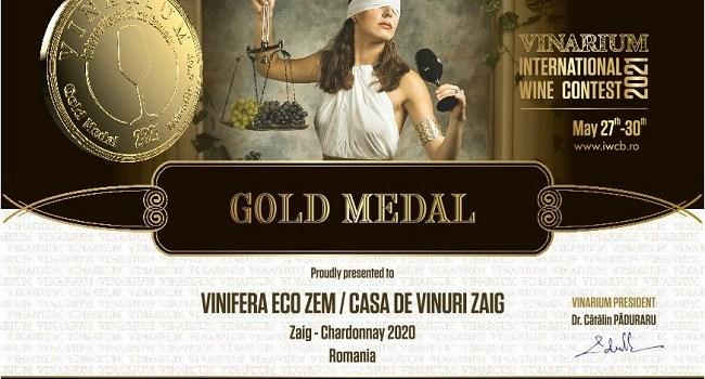 Casa de Vinuri ZAIG castiga 3 medalii de aur la cel mai important concurs international de vinuri din Europa de Est